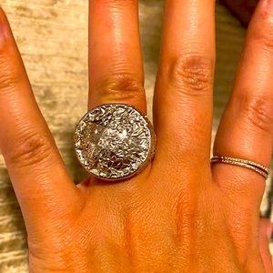 Margiela Silver Foil Ring